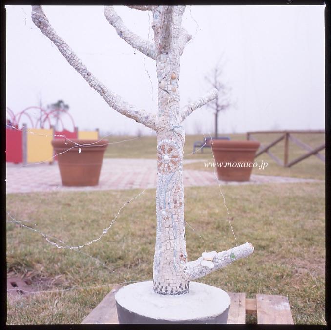 モザイクの木