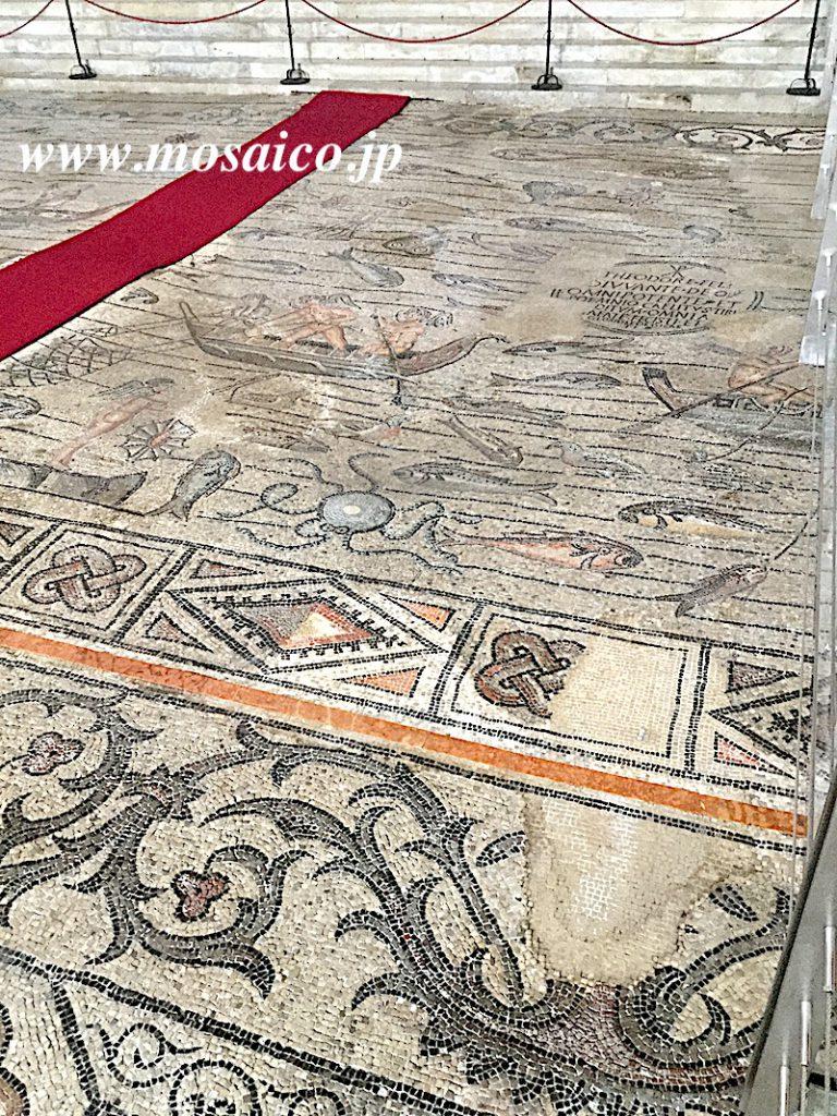 アクイレイア 大聖堂 床モザイク