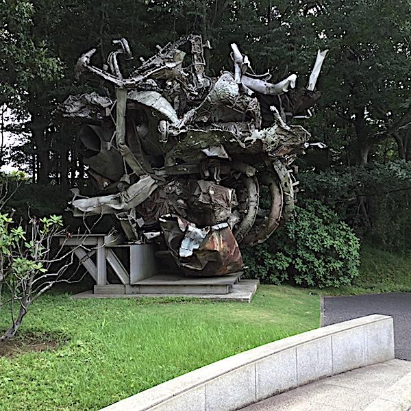 フランク・ステラ「リュネヴィル」1994