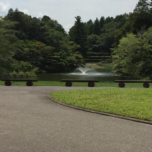 DIC川村記念美術館 庭園噴水