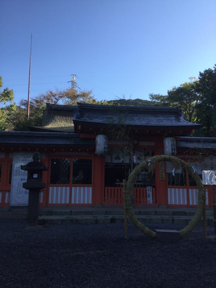宇治神社 朝の静寂