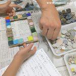モザイク壁画修復完成記念ワークショップ