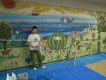 ガラスモザイク壁画修復工事
